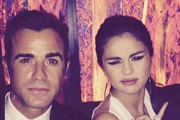 Justin Threroux e Selena Gomez (Foto: Instagram)