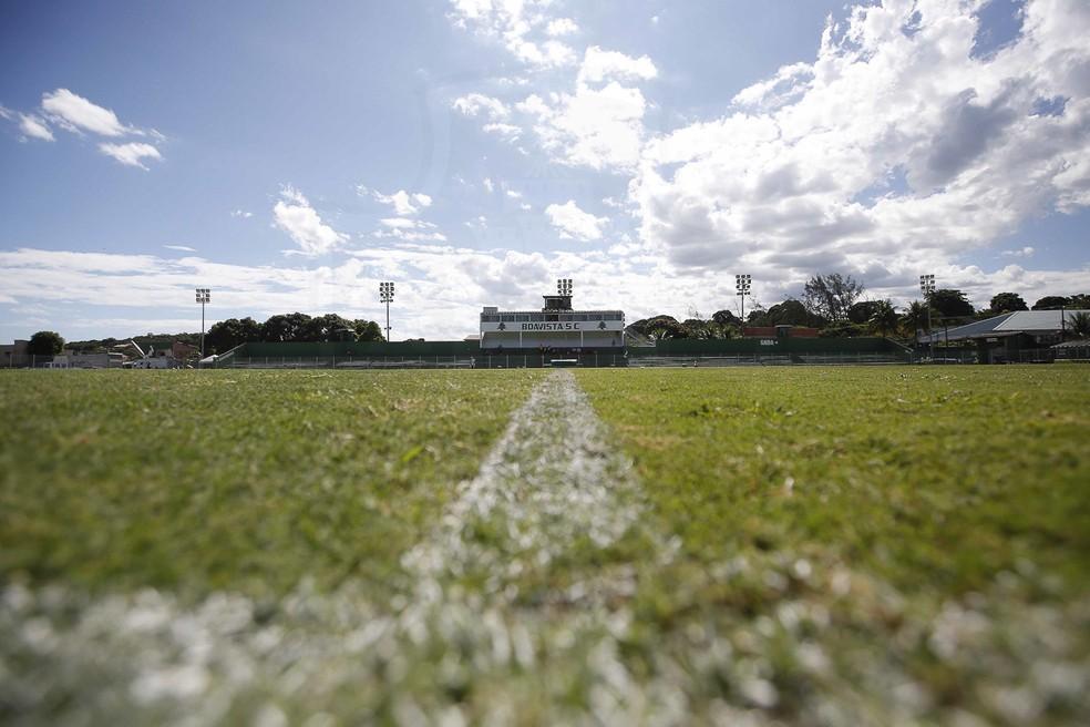 Estádio Elcyr Resende, em Saquarema, vai receber Boavista x Volta Redonda — Foto: Rafael Ribeiro