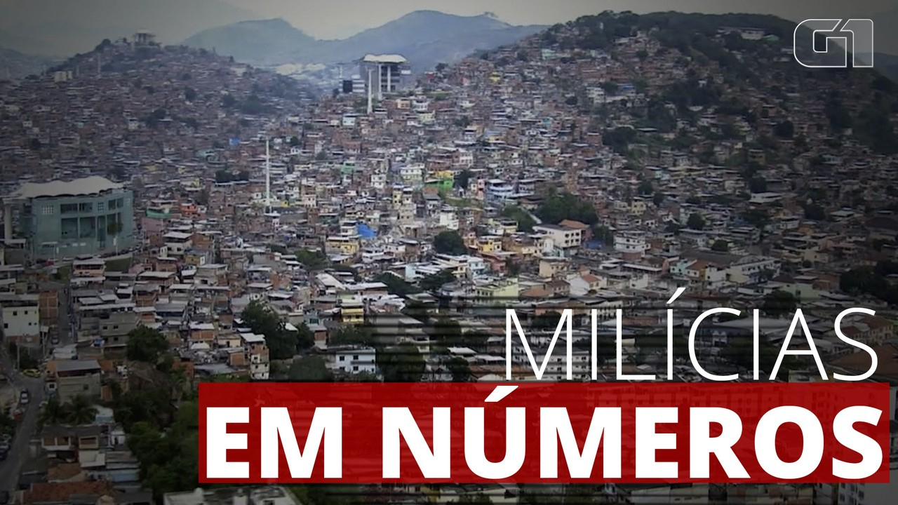 Milícia controla 57% da área da cidade do Rio de Janeiro, segundo estudo