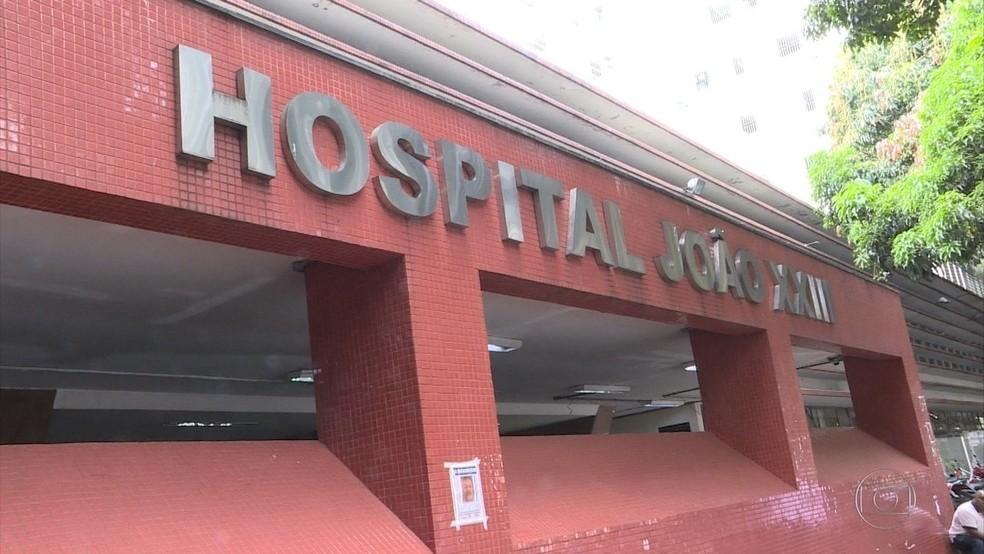 Hospital de Pronto-Socorro João XXIII, em Belo Horizonte — Foto: Reprodução/TV Globo