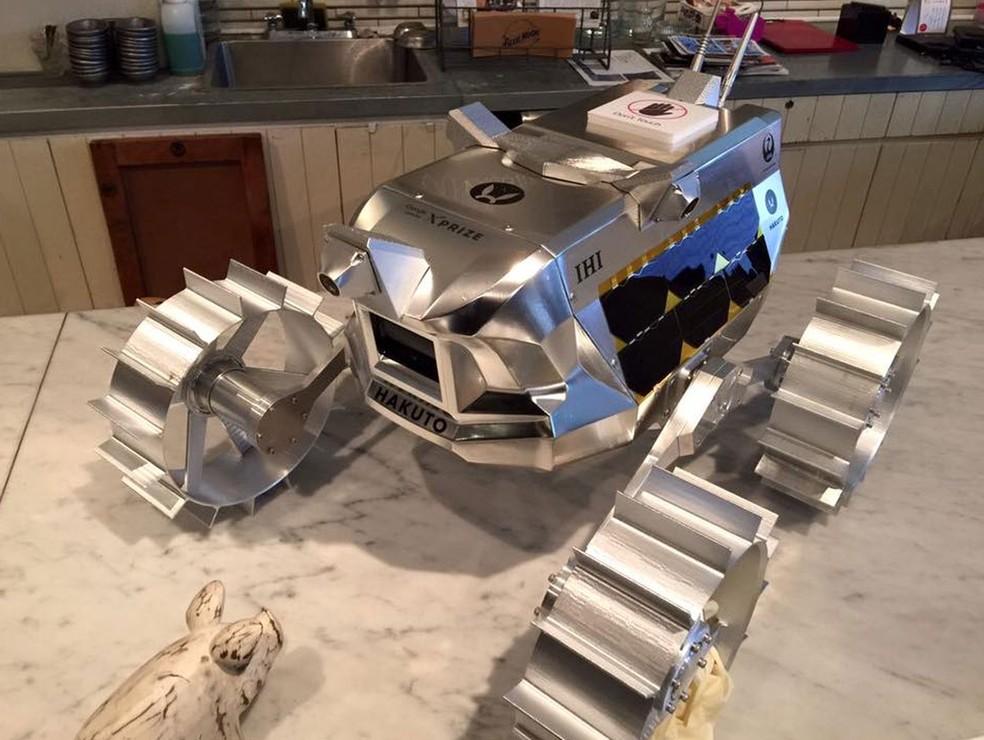 Modelo japonês de veículo lunar do X Prize (Foto: Reprodução/Facebook/Google Lunar X Prize)