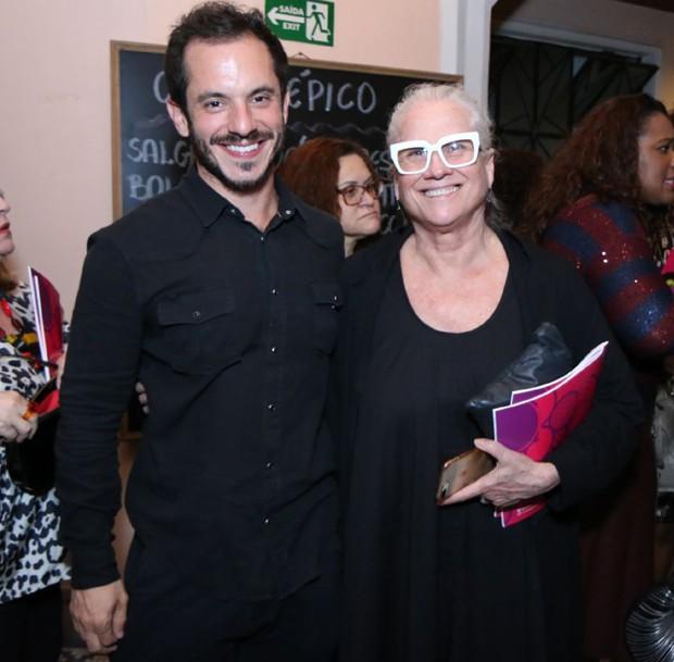 Roched e Vera Holtz (Foto: Daniel Pinheiro/AgNews)