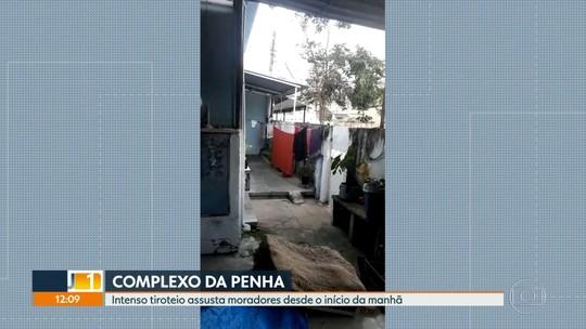 Intenso tiroteio assusta moradores do Complexo da Penha