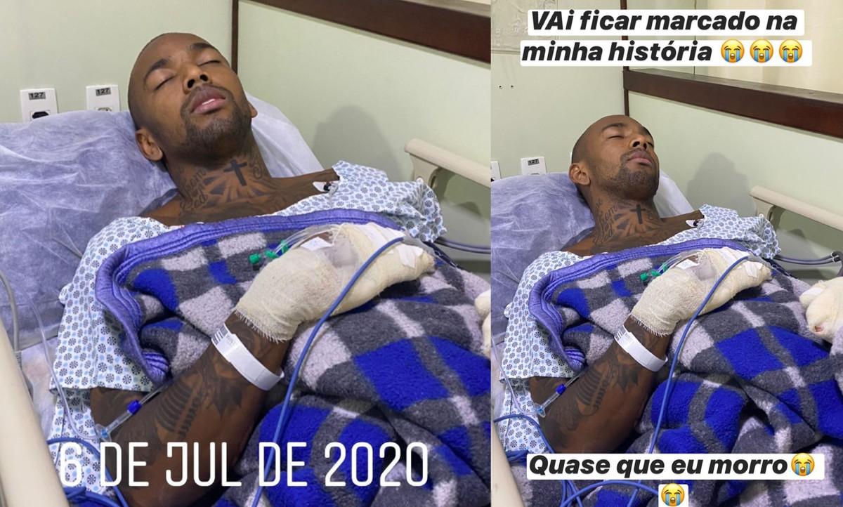 Nego do Borel dá detalhes sobre acidente de moto: 'Fiquei desesperado' | Pop & Arte