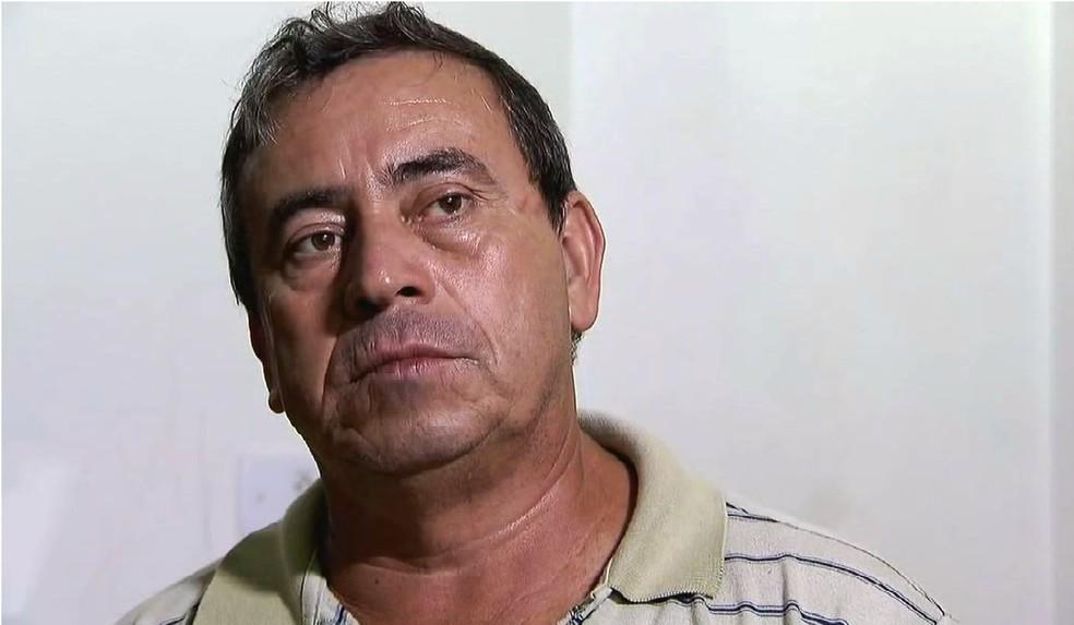 Francisco, pai de Angélica, disse que filha se defendeu de vizinhas em Santos, SP (Foto: Reprodução/TV Tribuna)