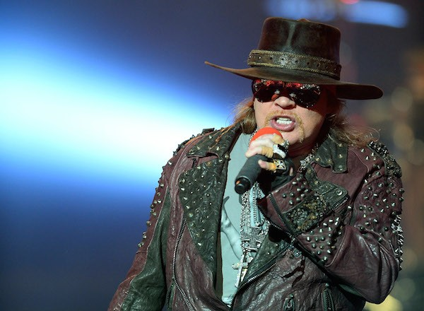 O músico Axl Rose (Foto: Getty Images)