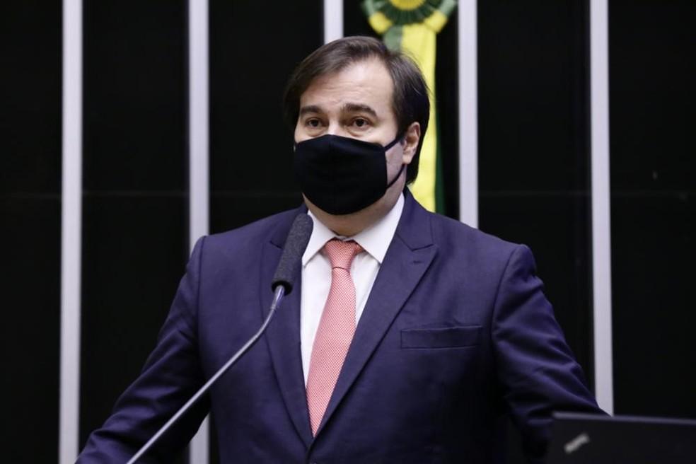 Rodrigo Maia diz que apenas sucessor pode tocar o processo de impeachment de Bolsonaro — Foto: Maryanna Oliveira/Câmara dos Deputados