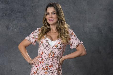 Flávia Alessandra como Rita de Cássia em 'O Sétimo Guardião' (Foto: Estevam Avellar/TV Globo )
