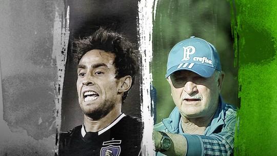 GEsdds: com alegrias e tristezas, lembre a trajetória de Valdivia e Felipão no Palmeiras