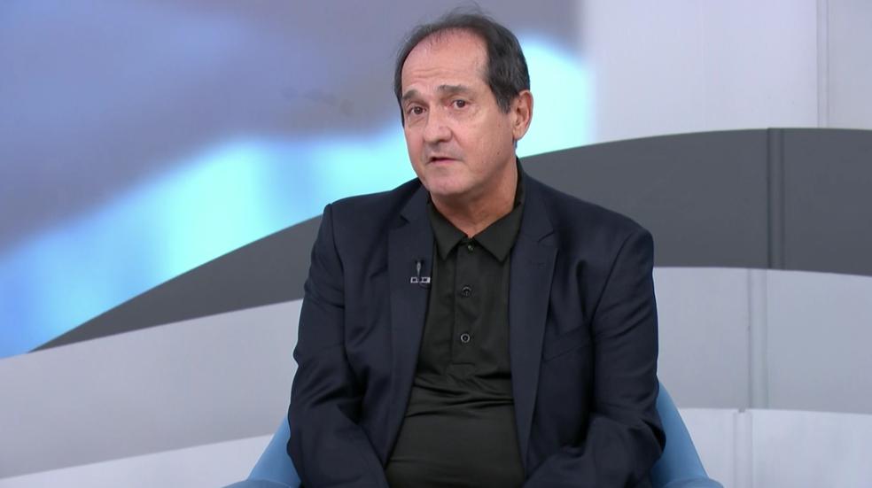 Muricy Ramalho, agora comentarista do SporTV — Foto: Reprodução SporTV