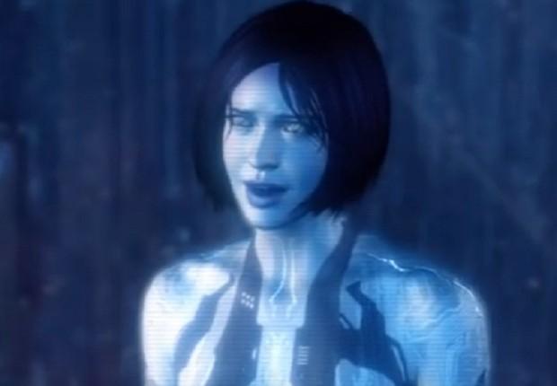 A assistente pessoal Cortana da Microsft (Foto: Reprodução/Youtube)
