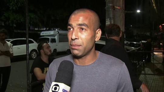 """Justiça rejeita queixa de presidente do Palmeiras, chamado de """"doente mental"""" por Emerson Sheik"""