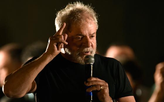 O ex-presidente Luiz Inácio Lula da Silva  (Foto:  DOUGLAS MAGNO/AFP)
