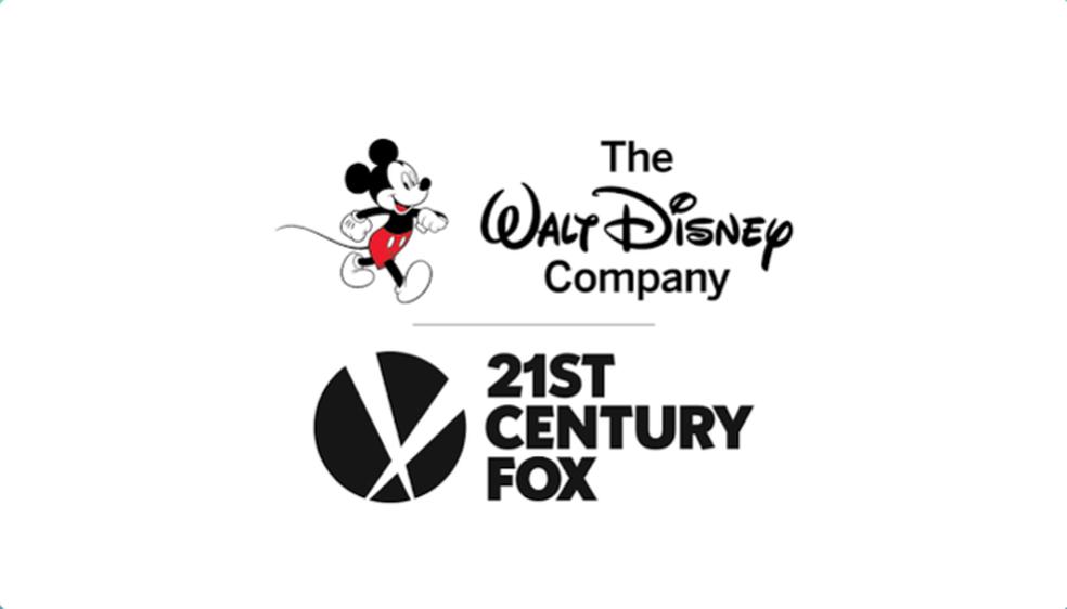 Logotipos da Walt Disney Company e da 21st Century Fox. (Foto: Divulgação)