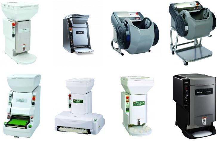 A AUTEC oferece cerca de 6 modelos de máquinas, cada uma especializada em  um tipo de alimento diferente. (Foto: Divulgação)