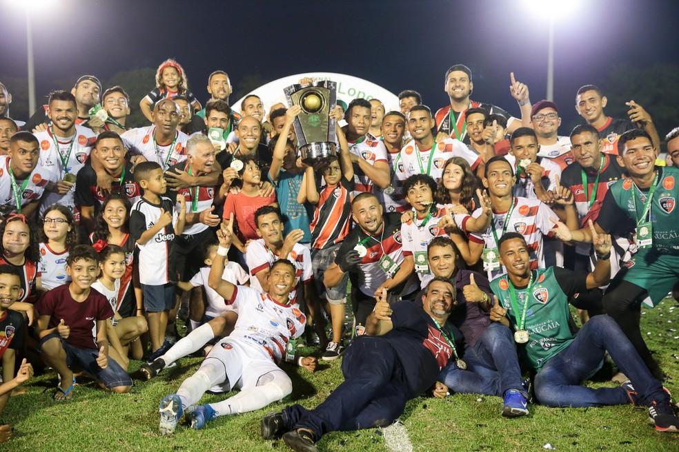 Caucaia é o atual campeão da Taça Fares Lopes — Foto: Lucas Barbosa