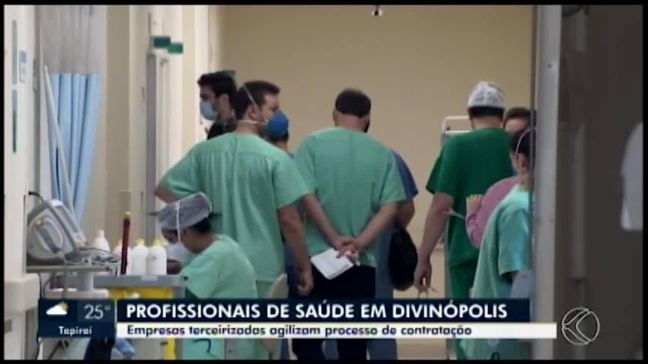Em Divinópolis, empresas agilizam contratação de profissionais de saúde