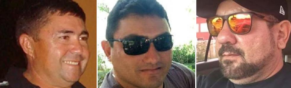 Francisco Duarte Filho, Laildo Morais e Gerrard Muller podem ter sido vítimas de um grupo de extermínio (Foto: Arquivo Pessoal)