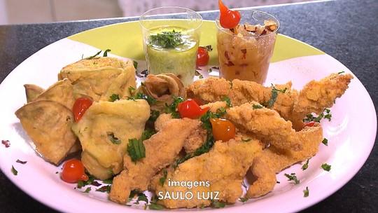 Aprenda receita de flor de jiló, do Circuito Gastronômico de Favelas