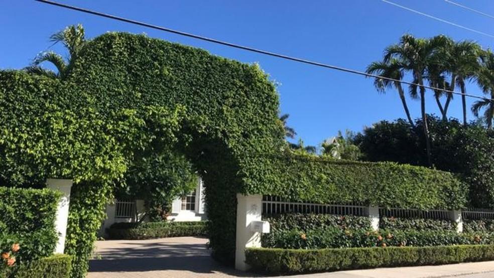 Palm Beach hospeda vários eventos de arrecadação de fundos para causas sociais — Foto: BBC Mundo