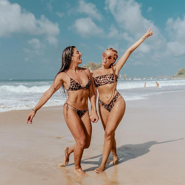 Rachel Apollonio e Gabi Lopes (Foto: Adalto Jr)