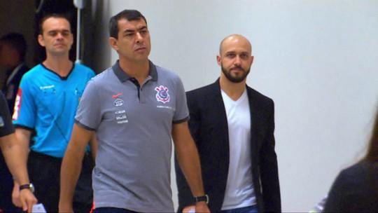 Bastidores do clássico: Lugano foi contra receber Carille em vestiário do São Paulo