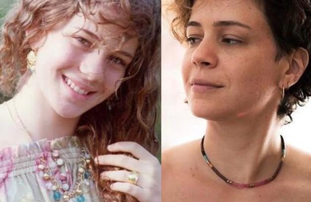 No ar em 'Aruanas', Leandra Leal interpretou Ianca, jovem que sofre pela fato da irmã mais velha, Dara, rejeitar o casamento. Segundo as tradições do seu povo, só depois dela é que ela poderá se casar (Foto: TV Globo - Reprodução/Instagram)
