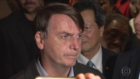 Bolsonaro chega ao G20 e diz que Alemanha tem muito o que aprender com o Brasil sobre meio ambiente