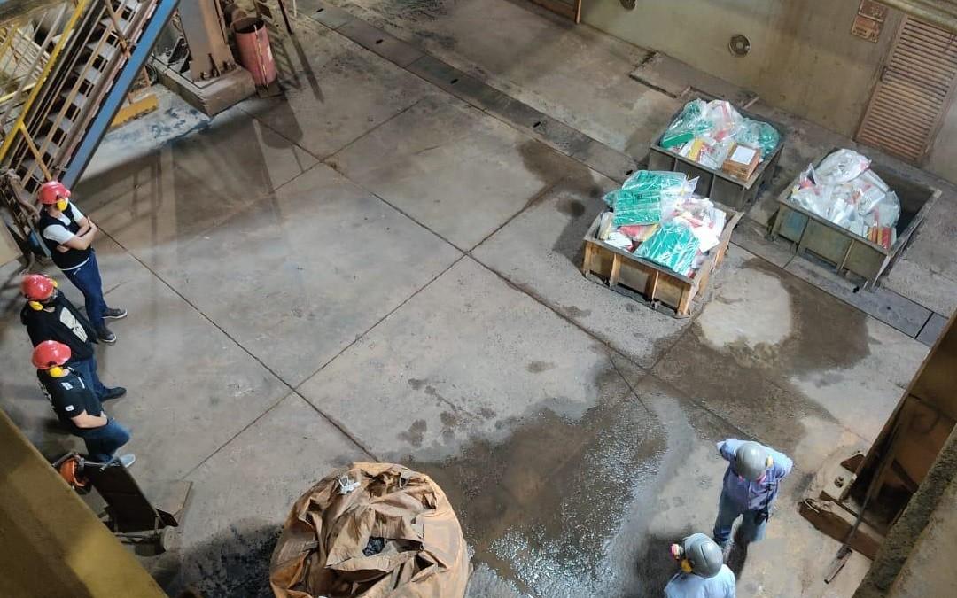 Polícia Civil incinera mais de uma tonelada de drogas em Araxá e Sacramento