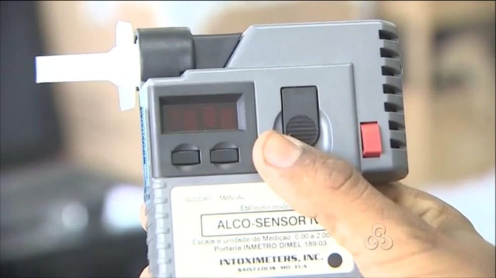 -  Blitz da Operação Lei Seca prende cinco em Porto Velho  Foto: Reprodução/TV Rondônia