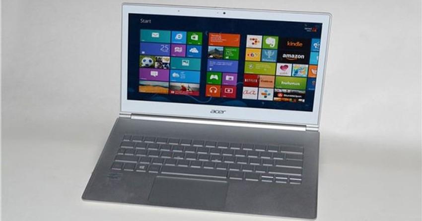 Acer remodela série S7 de ultrabooks com processadores Intel Haswell