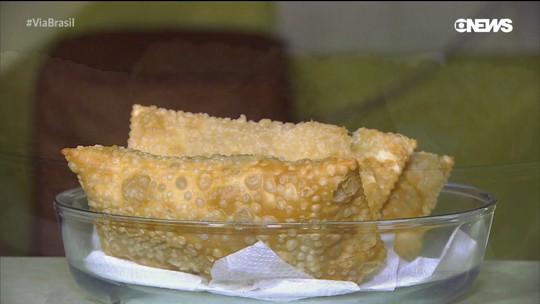 Aprenda a fazer um saboroso pastel de carne com tucumã