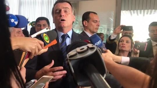 Bolsonaro quer ser avisado antes sobre dados do desmatamento