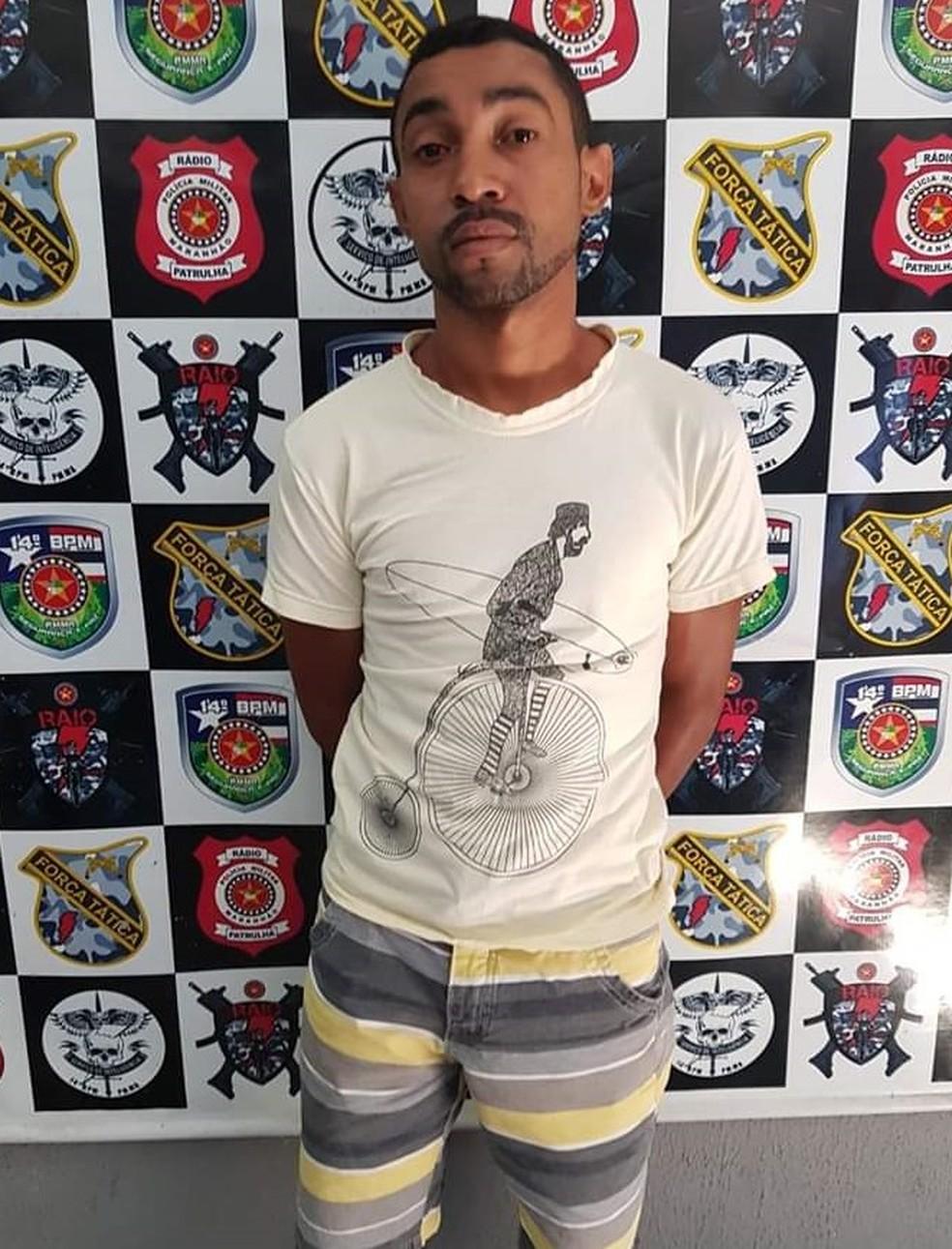 Francinaldo Freitas da Silva foi encaminhado para a Delegacia de Polícia Civil de Imperatriz — Foto: Divulgação/Polícia