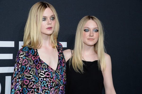 As atrizes Dakota Fanning e Elle Fanning (Foto: Getty Images)