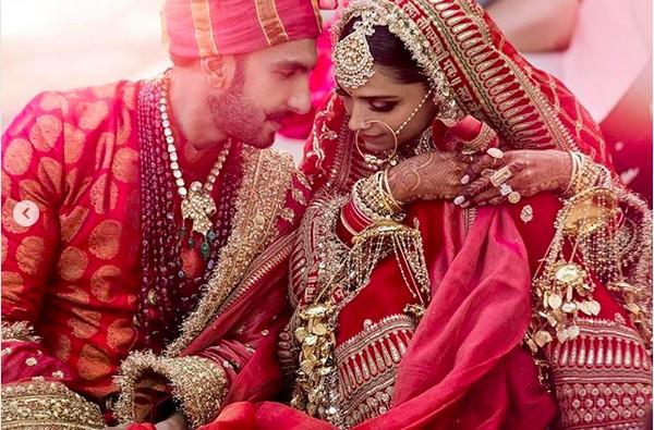 Ranveer Singh e Deepika Padukone (Foto: Instagram)