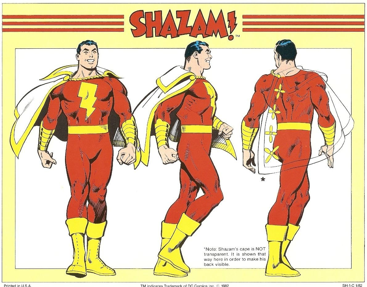 Shazam ilustrado por José Luis García-López (Foto: Divulgação)