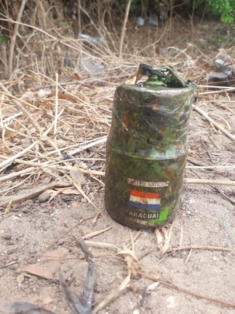 Polícia desativa granada encontrada em terreno baldio em São Luís