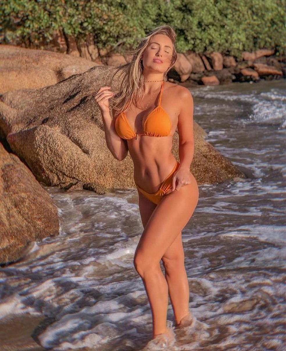 Jéssica compartilhou em sua rede social um clique recente da sua forma física — Foto: Reprodução/Instagram