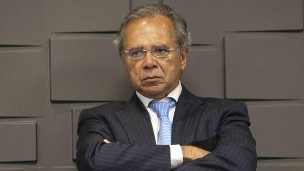 Paulo Guedes, ministro da Economia (Foto: REUTERS/UESLEI MARCELINO)