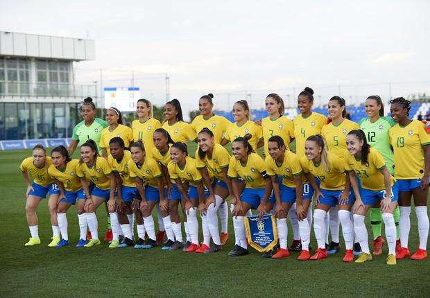 Seleção brasileira feminina de futebol  (Foto: Getty Images)