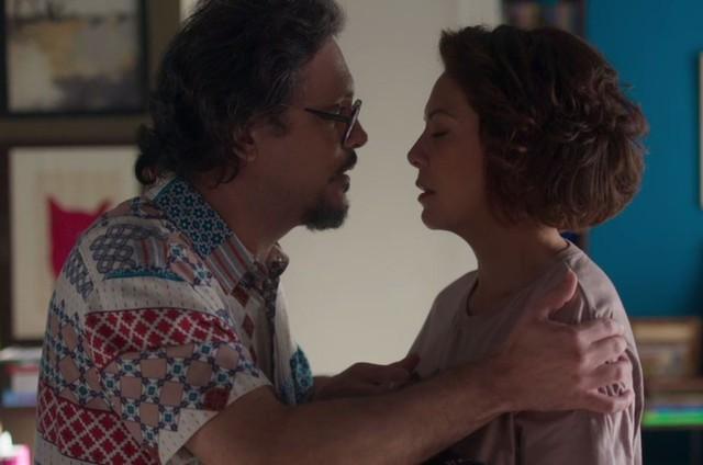 Mario (Lucio Mauro Filho) e Nana (Fabiula Nascimento) (Foto: TV Globo)