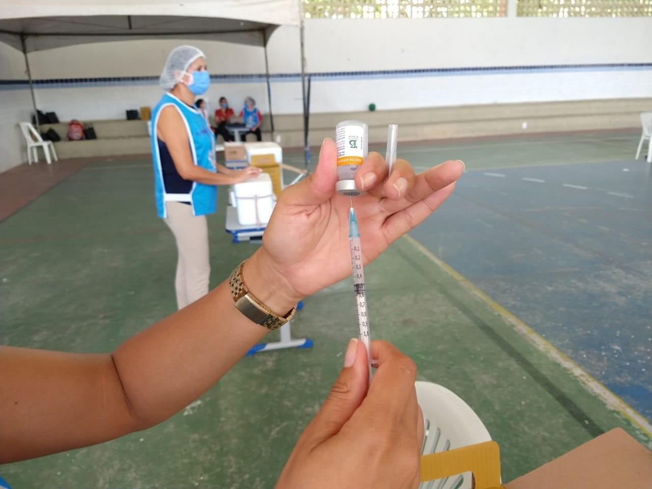 Vacinação em João Pessoa é retomada neste sábado (17) com 2ª dose para idosos acima de 78 anos