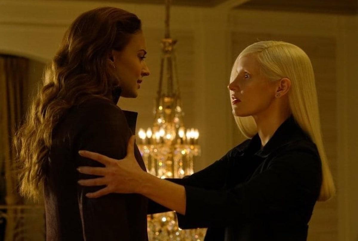 Sophie Turner e Jessica Chastain em 'X-Men: Fênix Negra' (Foto: Divulgação)