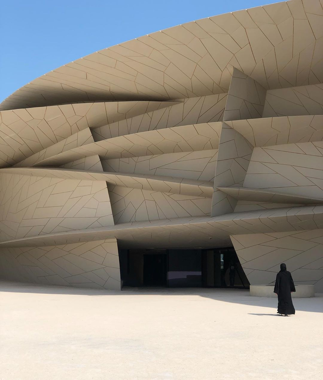 National Museum of Qatar (Foto: Gabriel Gontijo)