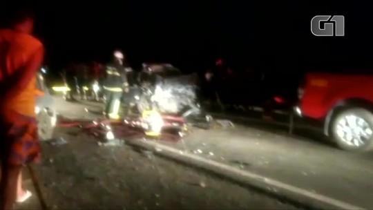 Três pessoas morrem e uma fica ferida em acidente na BR-110 no Oeste potiguar