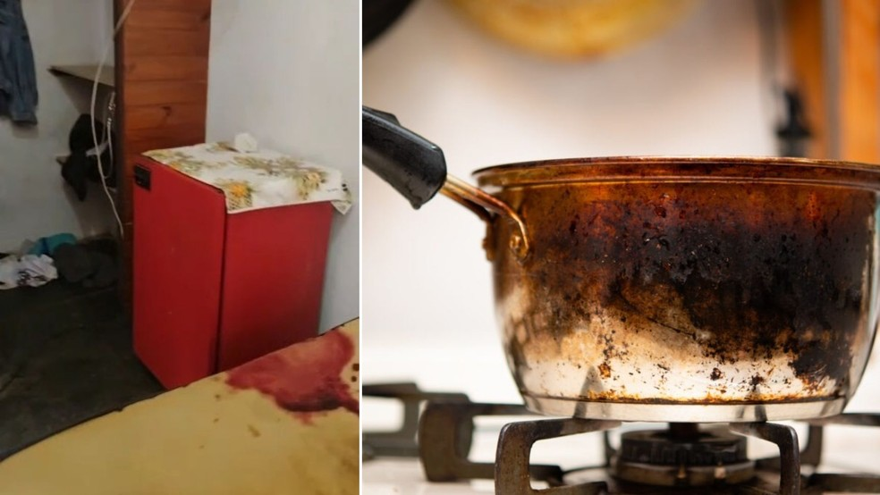 Órgão genital foi encontrado dentro de uma panela no quarto da pousada em que o autor do crime estava hospedado, em Itanhaém, SP — Foto: Arquivo / Ilustração
