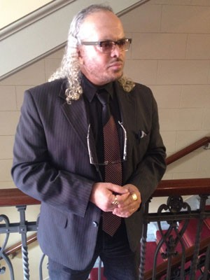 Advogado que representa a família de João Paulo (Foto: Kleber Tomaz/G1)