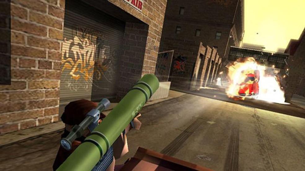 Havia preocupações que o PlayStation 2 poderia ser utilizado para guiar mísseis ao invés de rodar jogos como 187 Ride or Die na foto — Foto: Reprodução/PlayStation