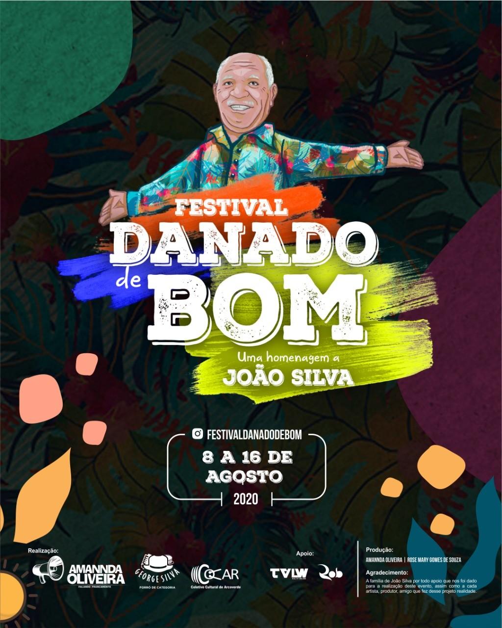 Festival 'Danado de Bom' homenageia obra de João Silva em Arcoverde